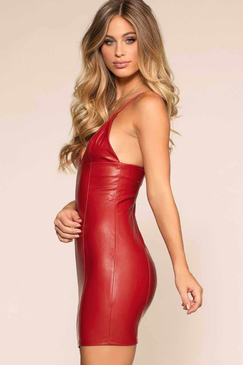 Dresses - Flatliner Mini Dress - Cherry