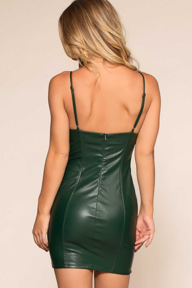 Dresses - Flatliner Mini Dress - Emerald