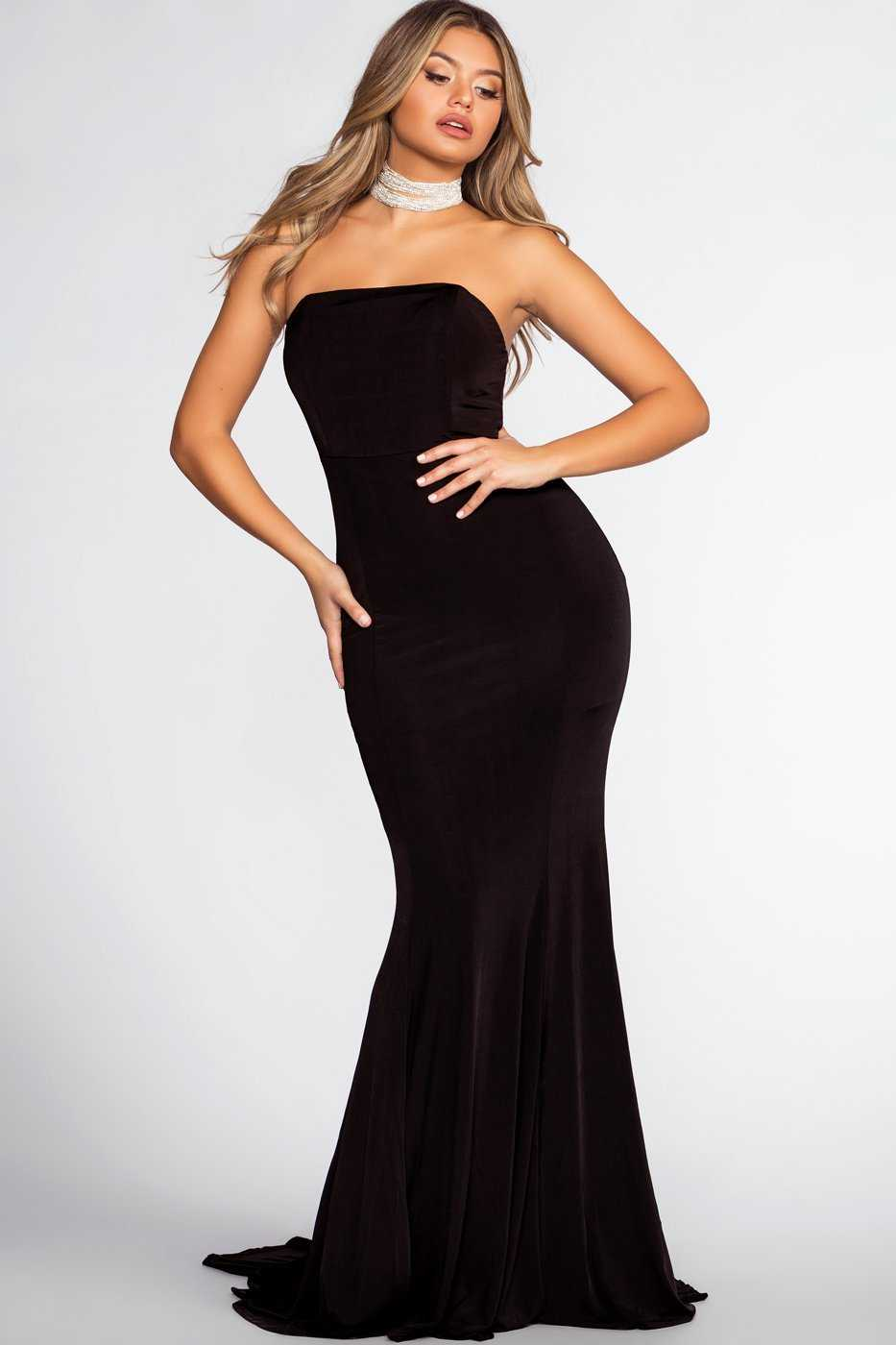 88c89358ce752 Forever Yours Maxi Dress - Black | Latiste