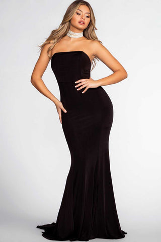 Aurora Maxi Dress - Black