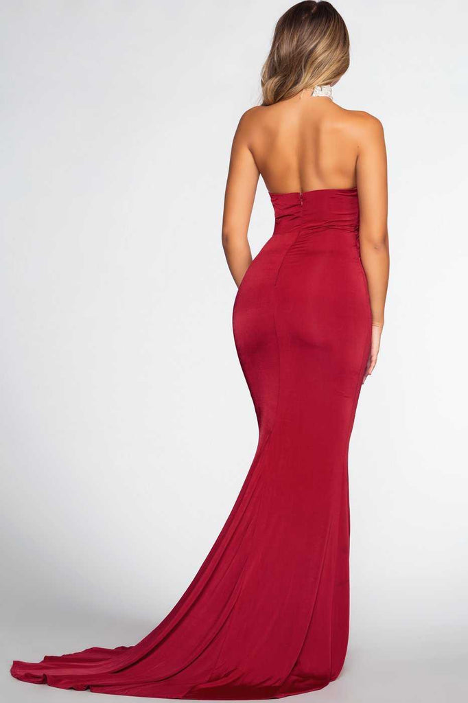 Forever Yours Maxi Dress Red Shop Priceless