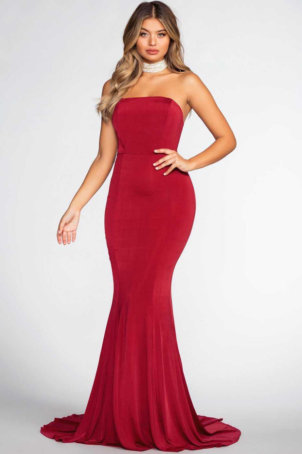 Dresses - Forever Yours Maxi Dress - Red