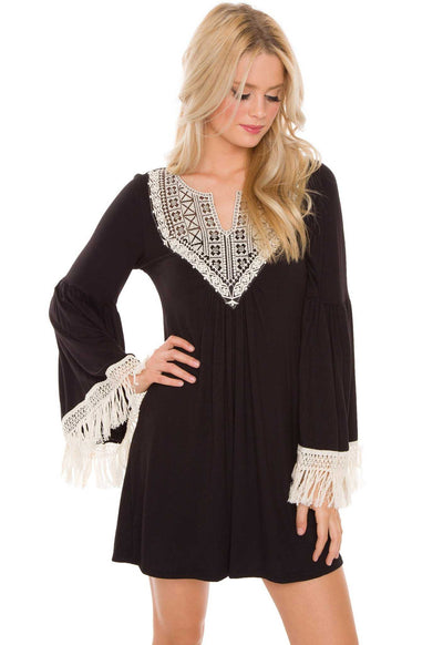Dresses - Got Hooked Lace Dress