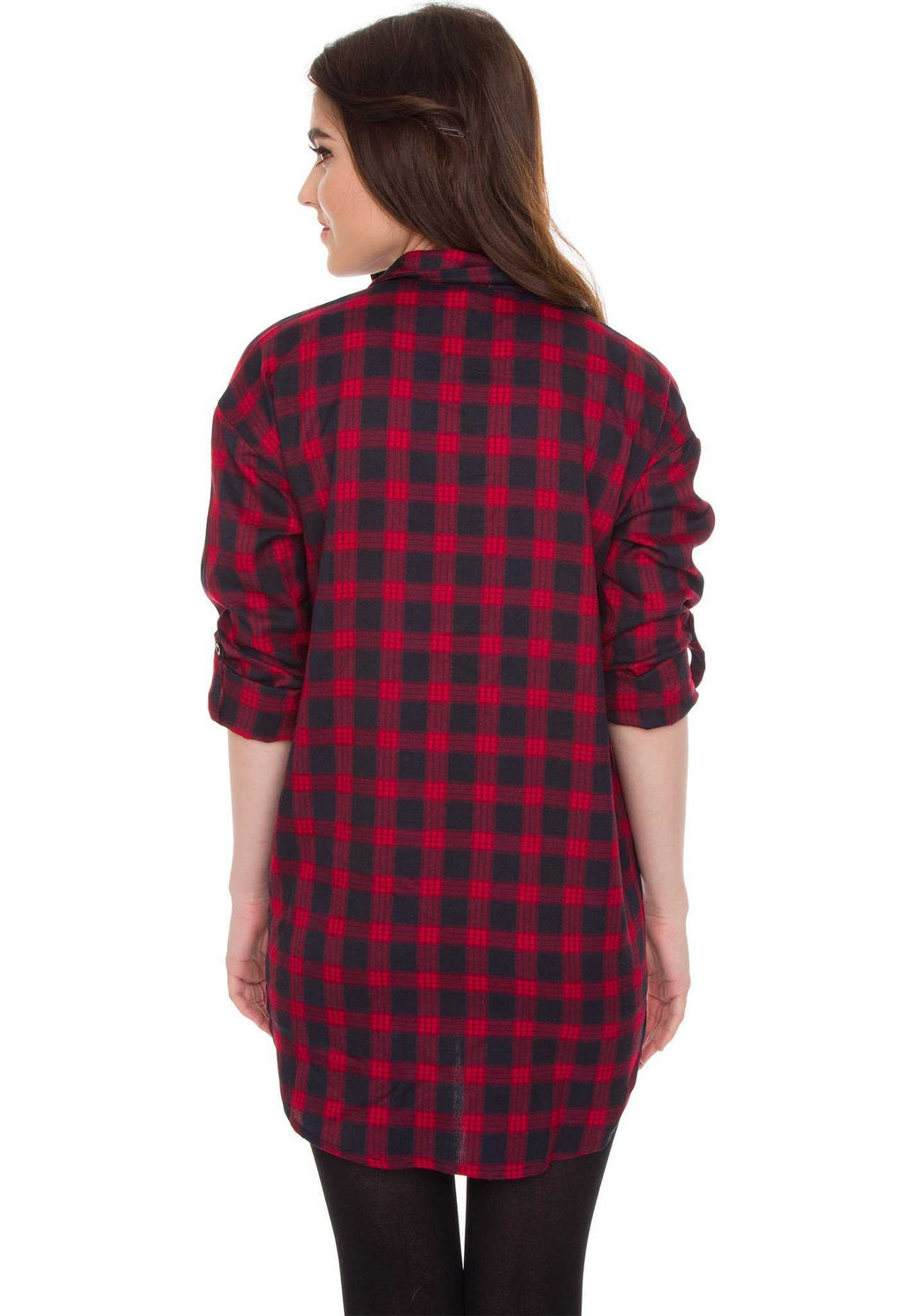 Dresses - Greer Plaid Tunic