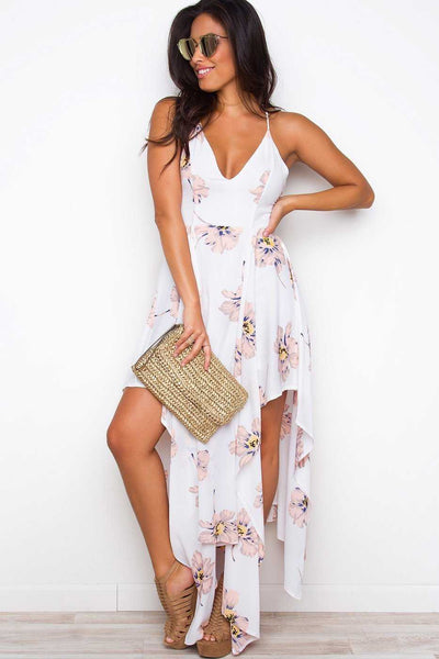 Dresses - Just Add Water Maxi Dress - Ivory