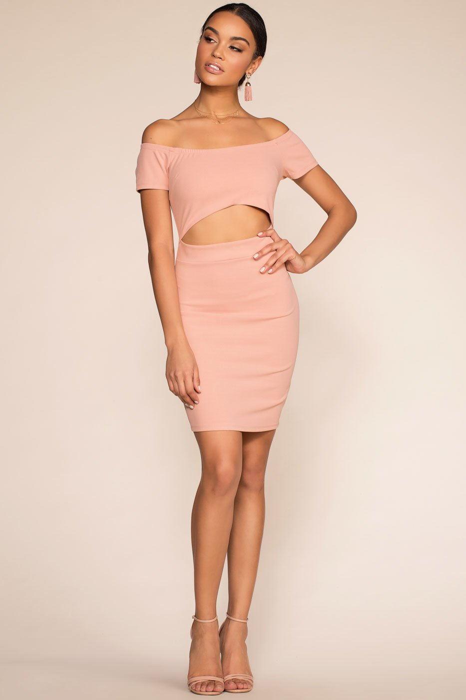 Dresses - Just Whistle Bodycon Dress - Pink
