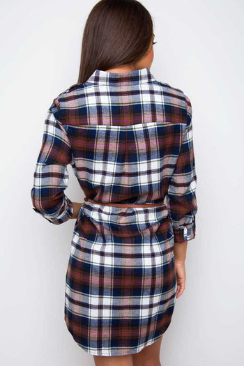 Dresses - Kaelyn Plaid Dress