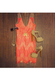 Dresses - Lilycove Dress - Coral