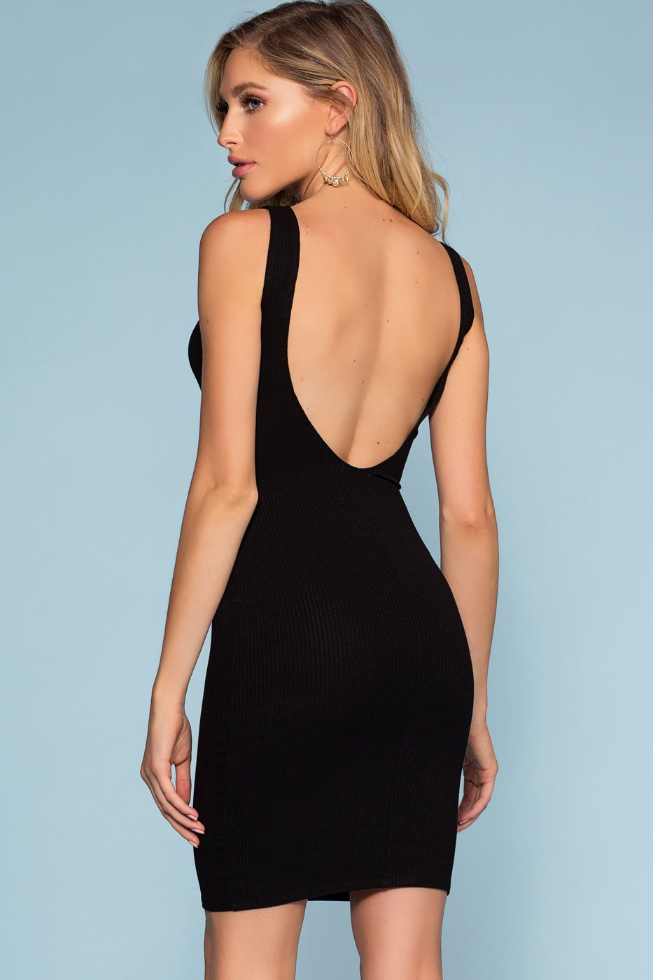 Dresses - Misty Bodycon Dress - Black