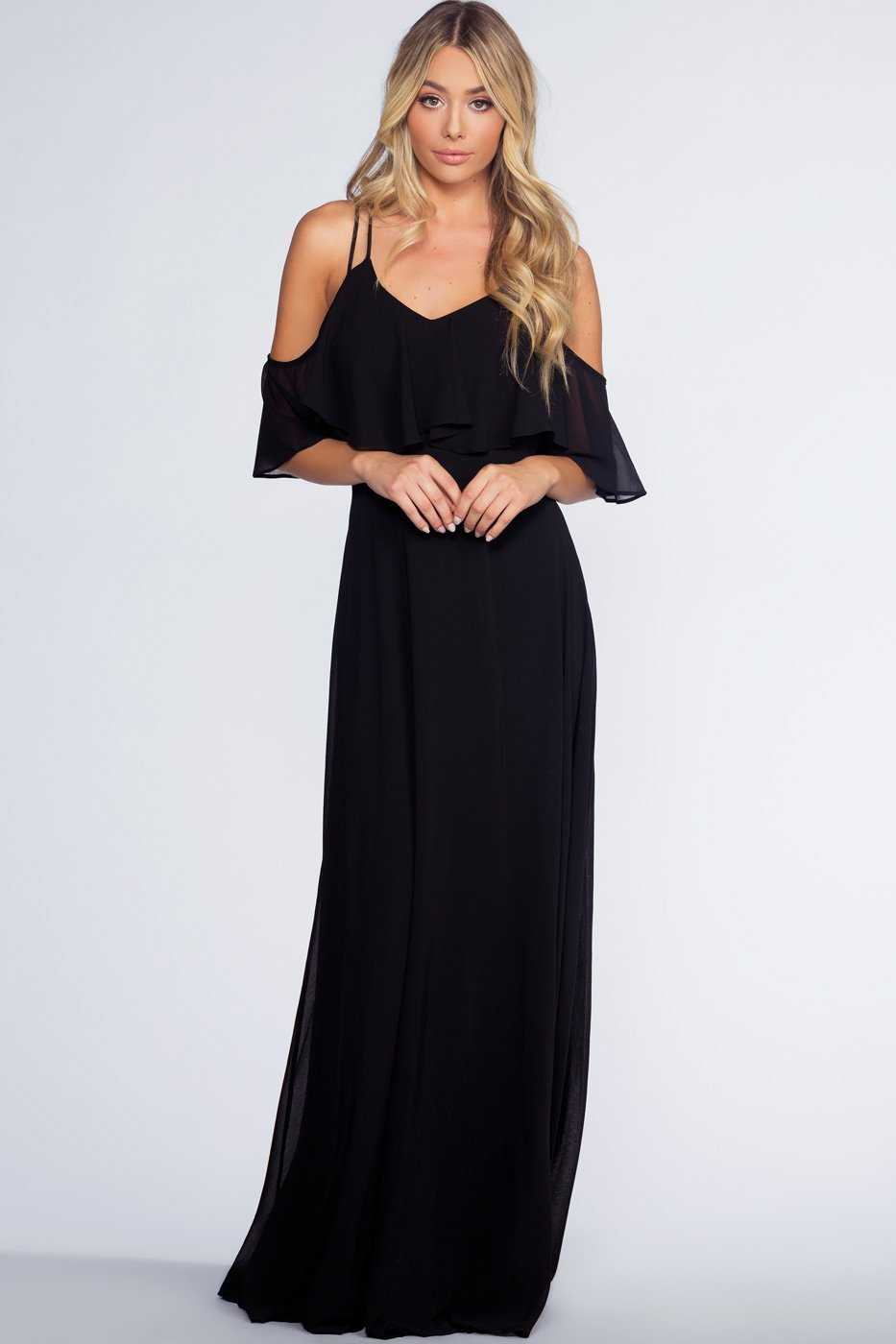 Dresses - Mythical Romance Maxi Dress - Black