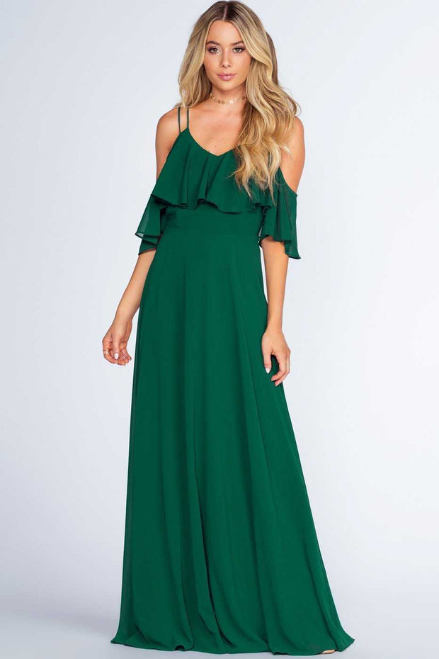 Dresses - Mythical Romance Maxi Dress - Emerald