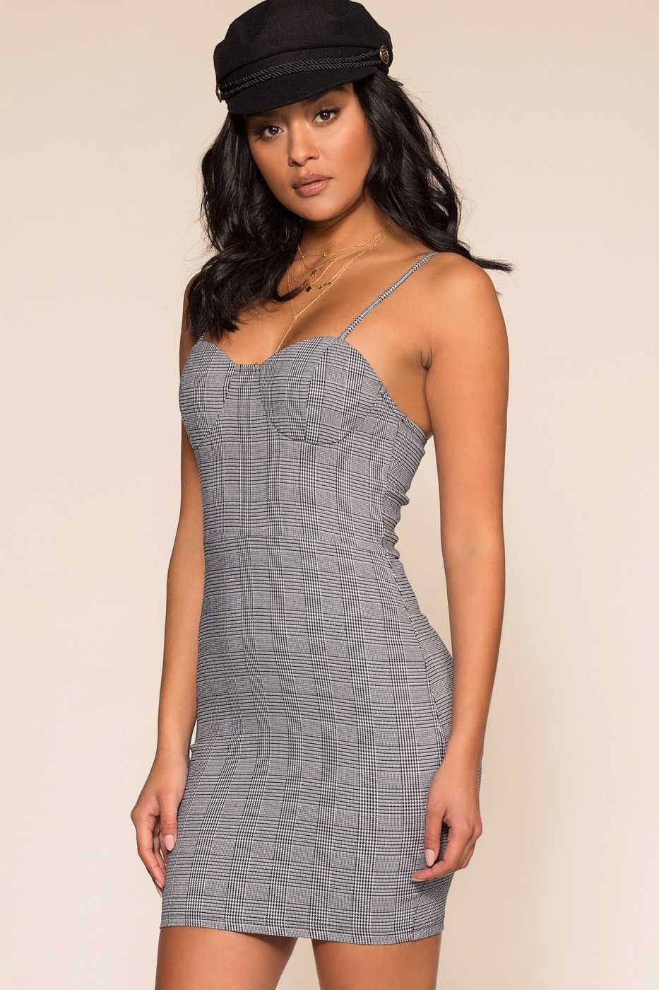 Dresses - Plaid With My Heart Dress