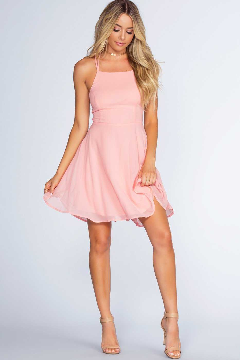 Dresses - Roxy Dress - Blush
