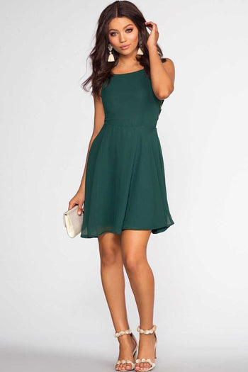 Dresses - Roxy Dress - Hunter