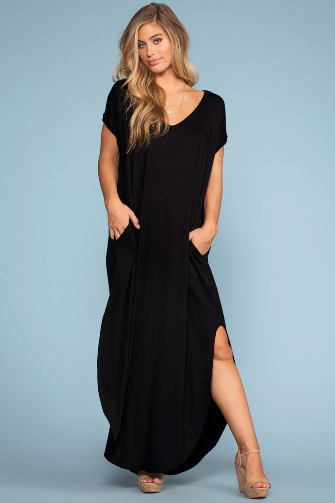 Dresses - Sand Dollar Maxi Dress - Black