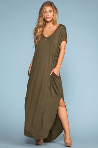 Clarita Maxi Dress - Black