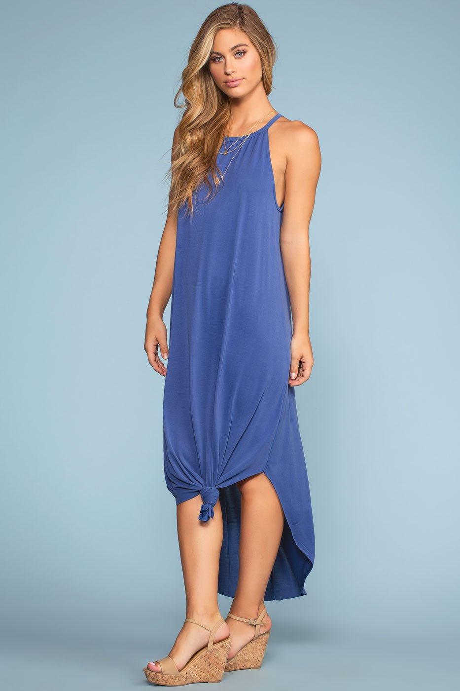 Dresses - Sandbar Maxi Dress - Blue
