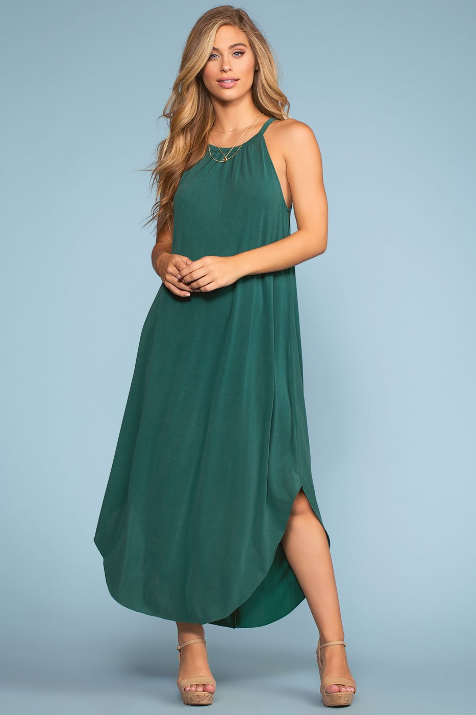 Dresses - Sandbar Maxi Dress - Green