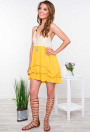 Dresses - Sun Soaked Crochet Dress