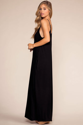 Dresses - Sunup To Sundown Maxi Dress - Black
