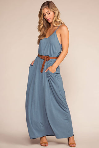 Sunup To Sundown Maxi Dress - Black