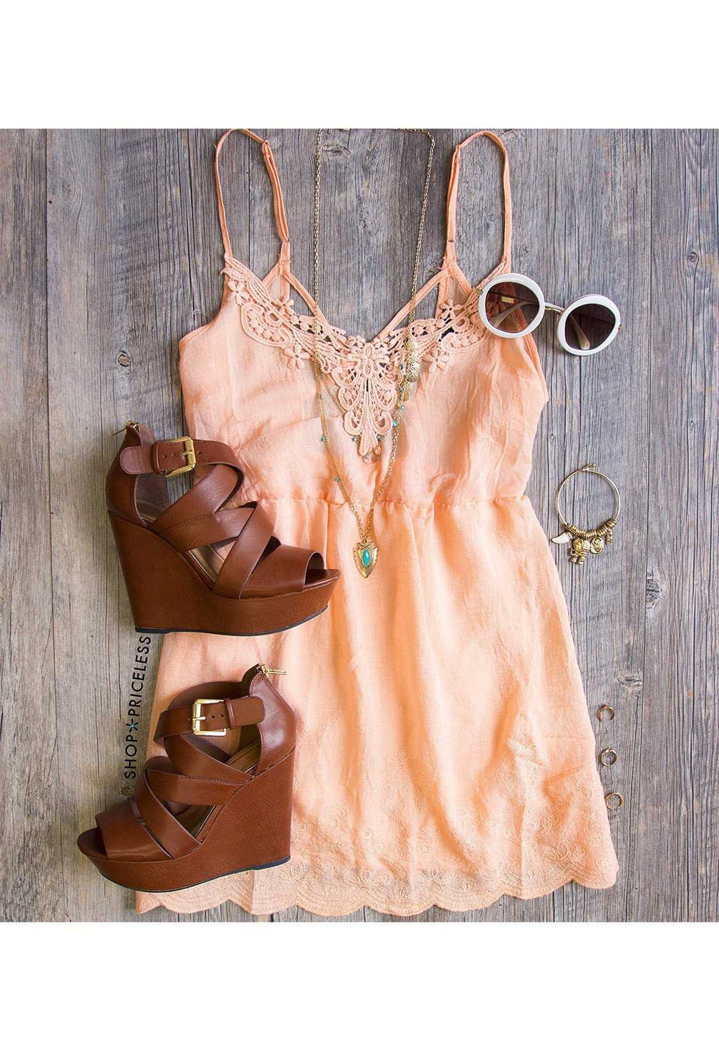 Dresses - This Summer Dress - Peach