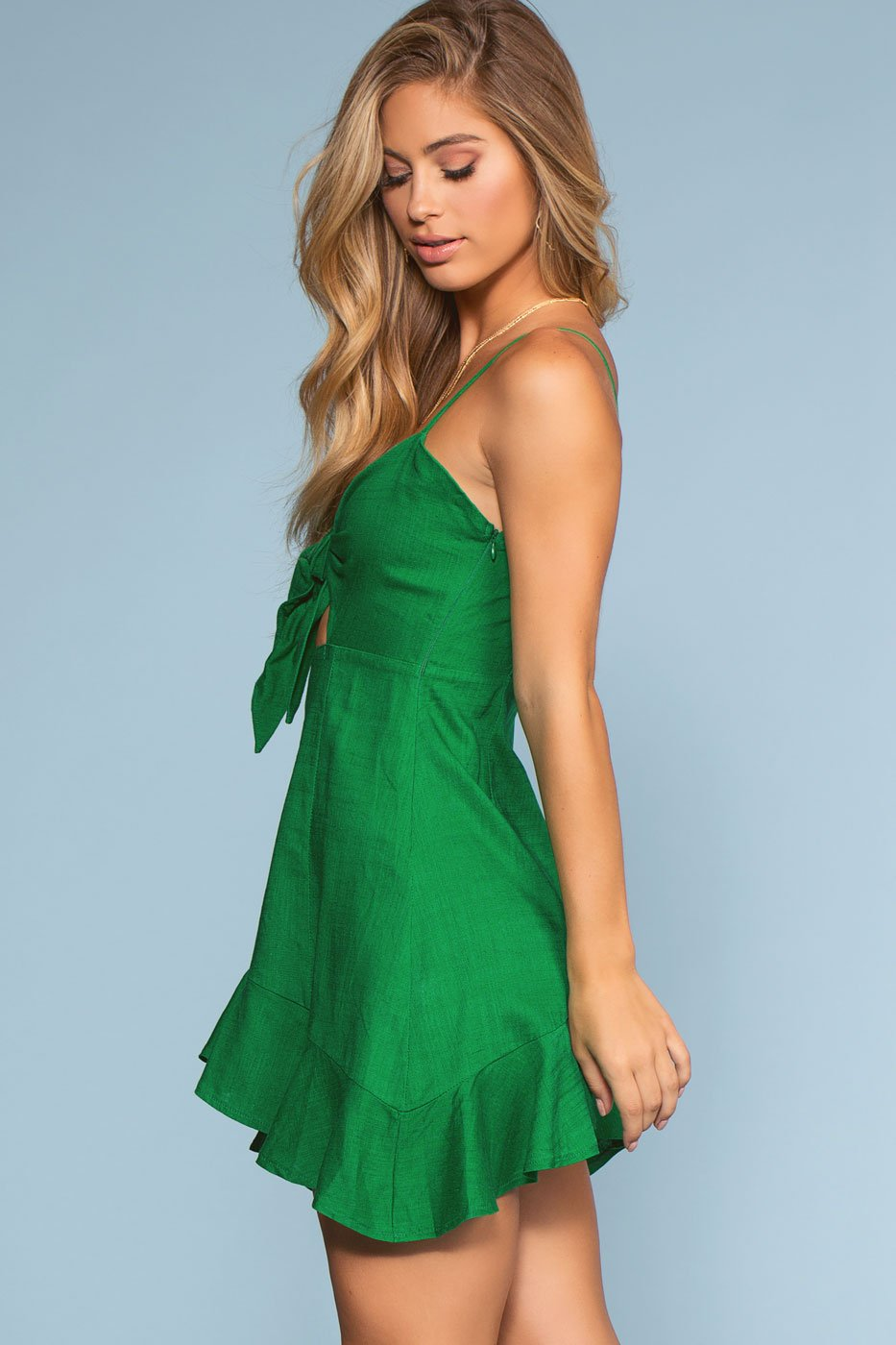 Dresses - Touch Of Tropics Dress - Green