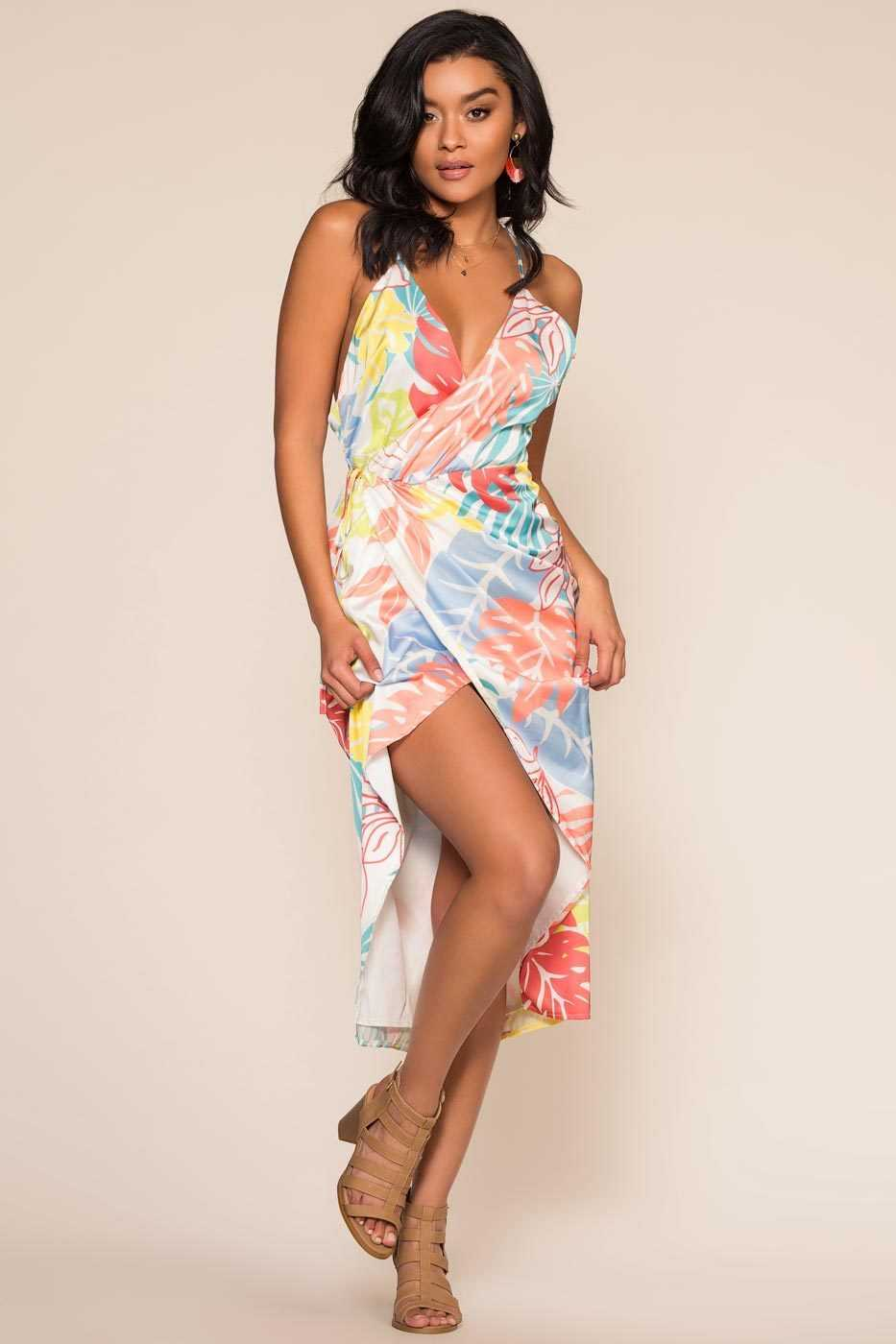 Dresses - Tropical Breeze Dress