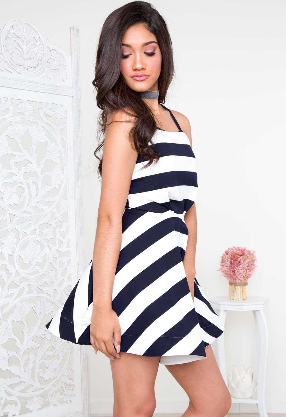 Dresses - Zendaya Striped Dress