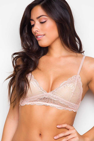 Aiden Bralette - White