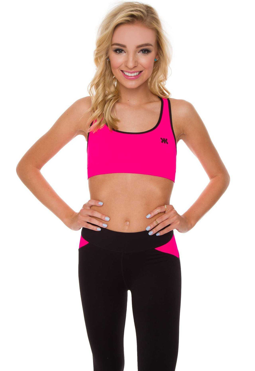 09ec0798eaf35 ... Intimates - Never Giving Up Sports Bra In Pink ...