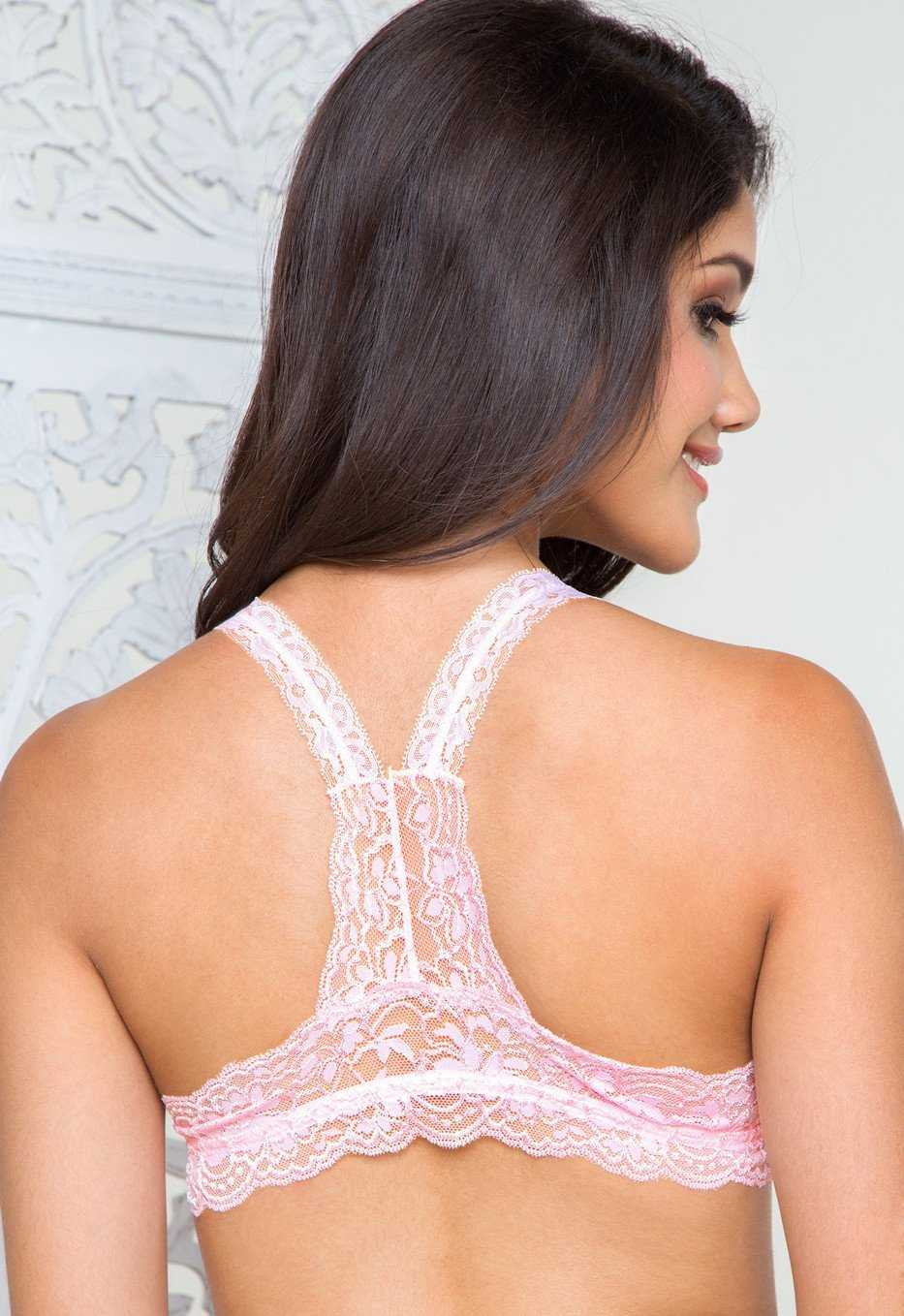 Intimates - Up All Night Lace Bralette - Pink