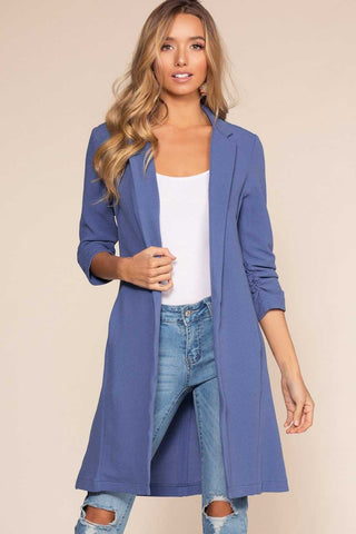 Jackets - Brushed By Love Duster - Blue