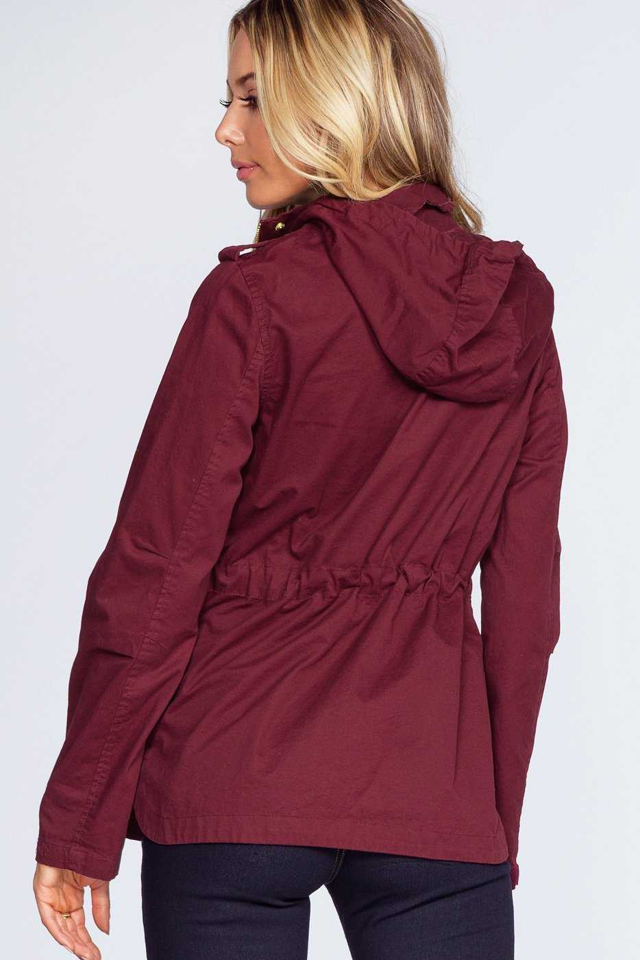 Jackets - Mercer Jacket - Burgundy