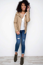 Jackets - Mercer Jacket - Khaki