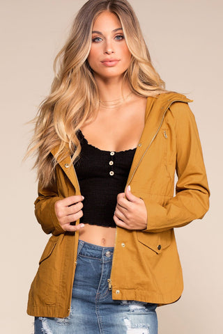 Cuddle Bug Rust Faux Fur Bomber Jacket