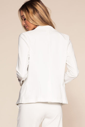 Jackets - Now Or Never Blazer - White
