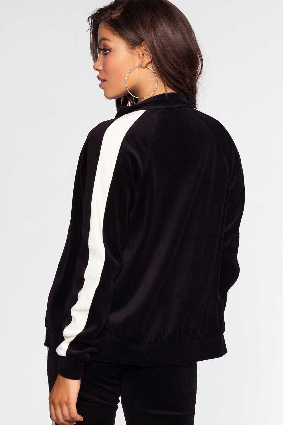 Jackets - Track It Jacket - Black
