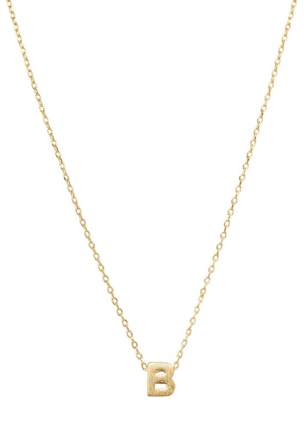 Jewelry - Be Yourself Initial Necklace - B