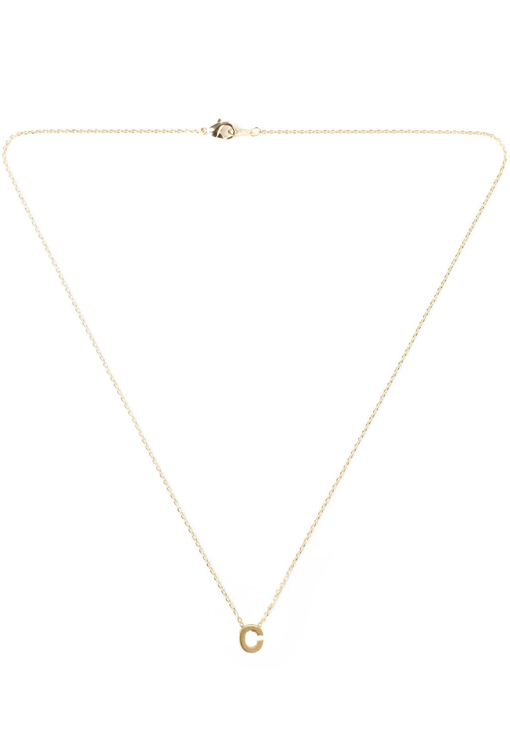 Jewelry - Be Yourself Initial Necklace - C