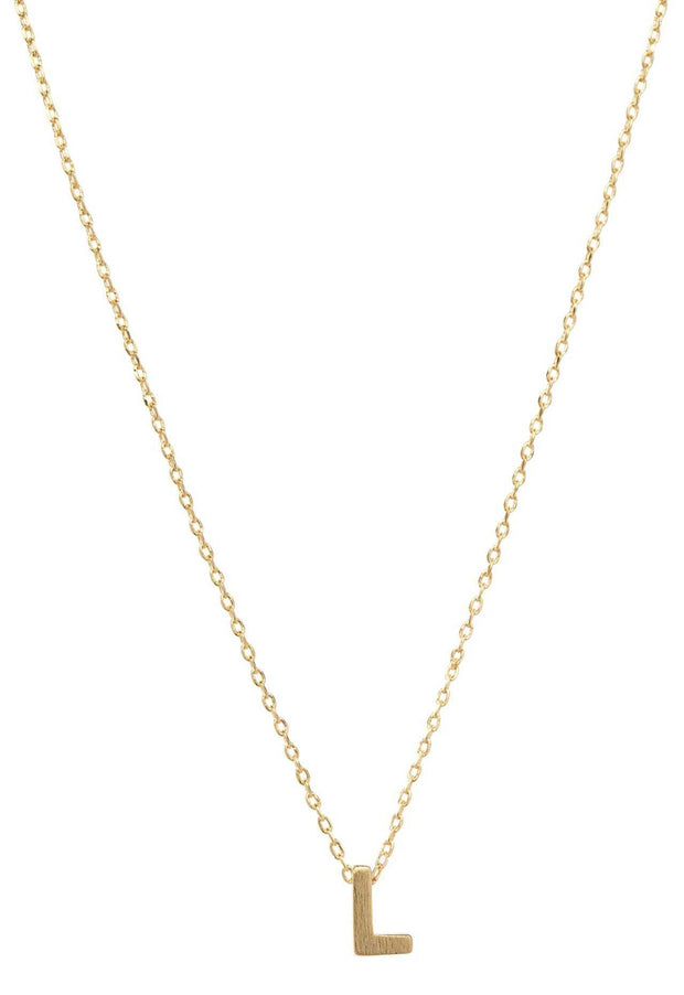 Jewelry - Be Yourself Initial Necklace - L