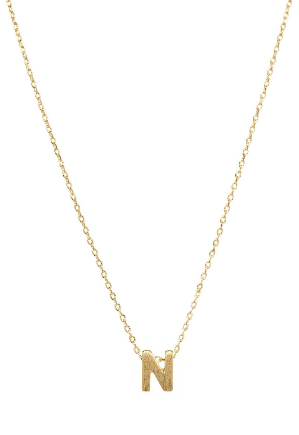Jewelry - Be Yourself Initial Necklace - N