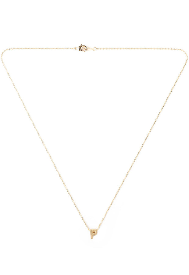Jewelry - Be Yourself Initial Necklace - P