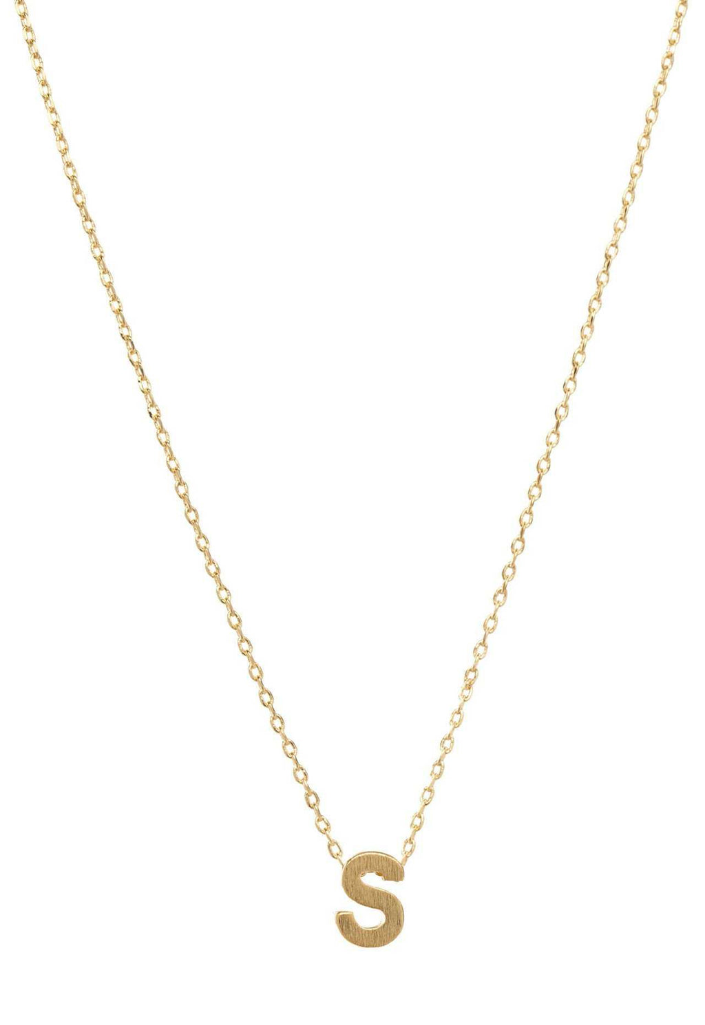 Jewelry - Be Yourself Initial Necklace - S