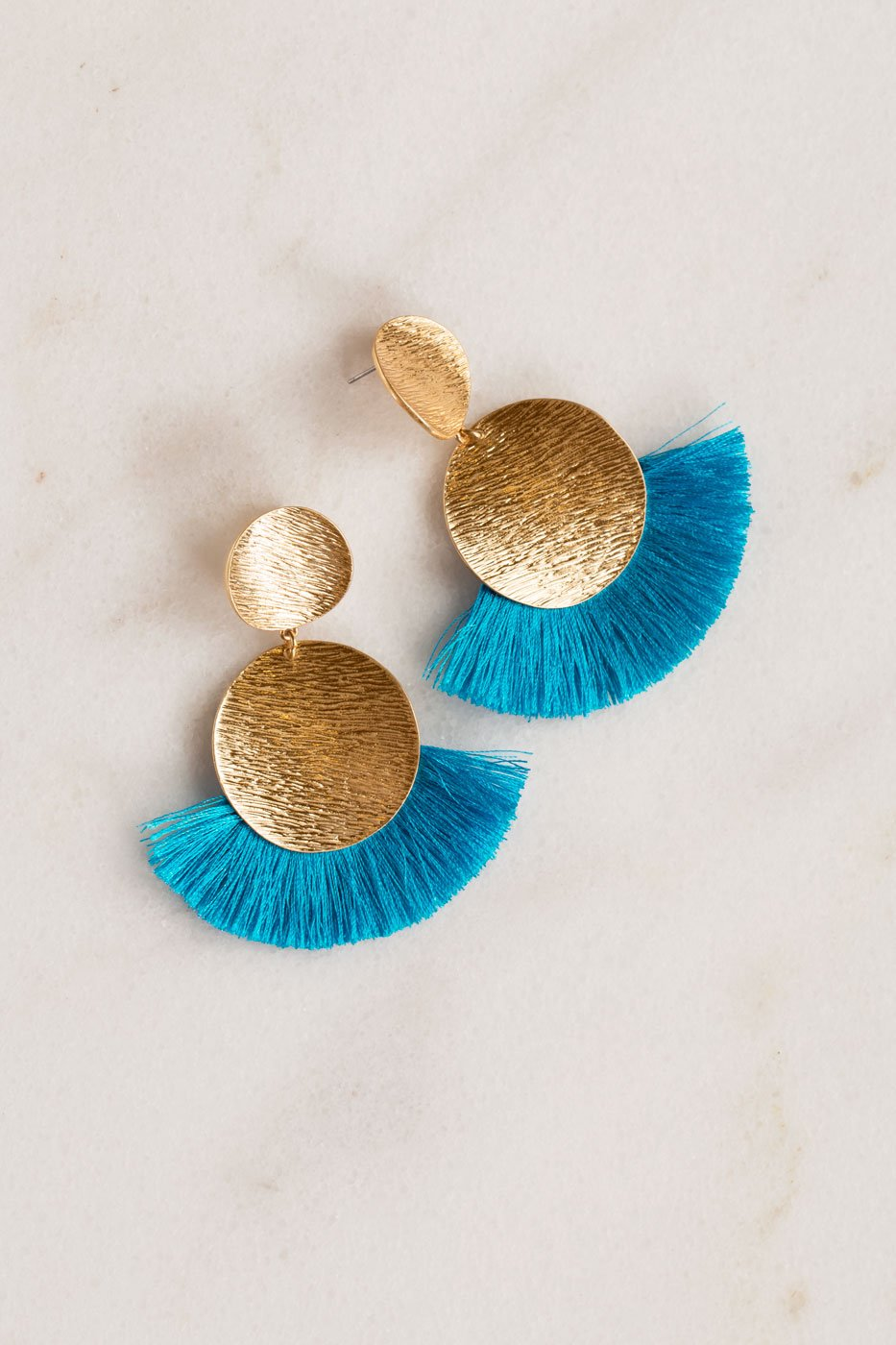 Jewelry - Bella Earrings - Turquoise