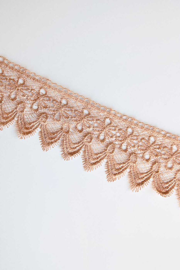 Jewelry - Celia Lace Choker - Blush