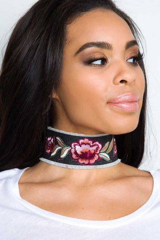 Rise And Shine Choker Set - Silver