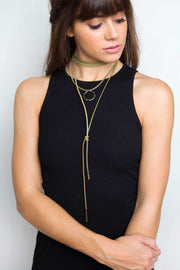 Jewelry - Desert Evening Lariat Necklace