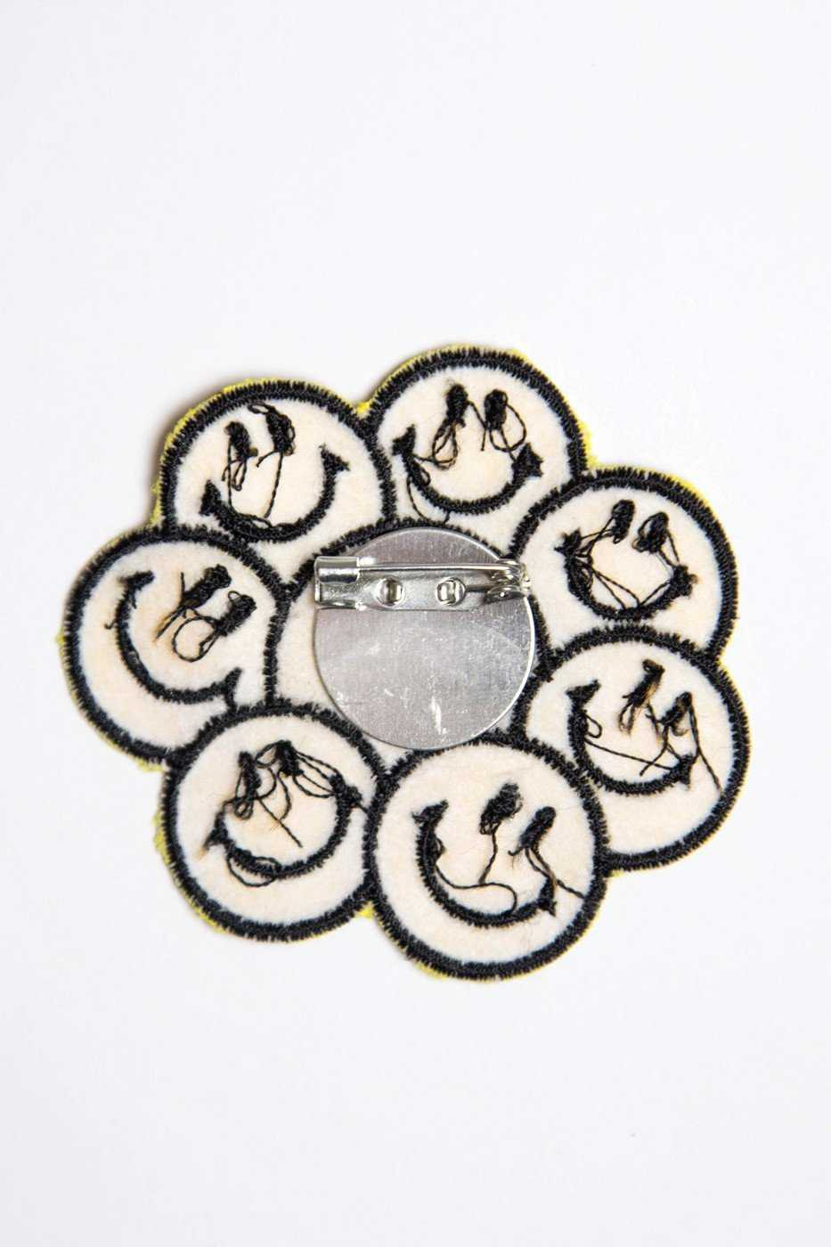Jewelry - Happy Happy Patch Pin