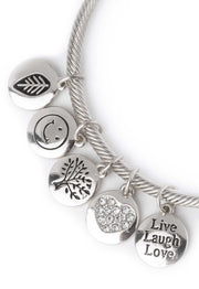 Jewelry - Hello Fall Charm Bracelet In Silver